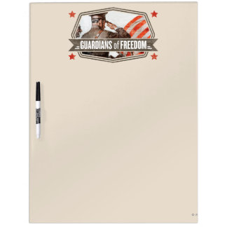 Solider-Guardian of Freedom Dry Erase White Board