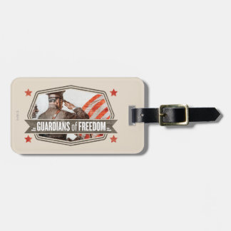 Solider-Guardian of Freedom Luggage Tag