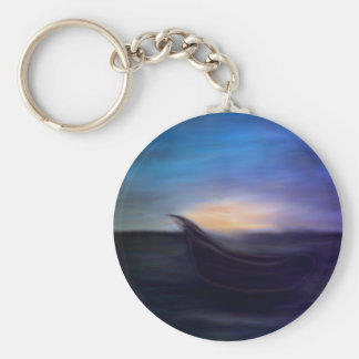 Solitude (multiple products) basic round button key ring