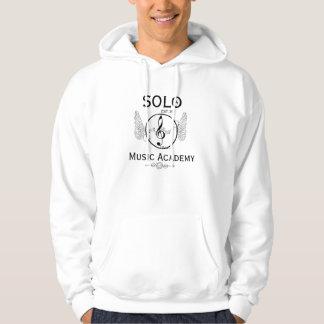 Solo Music Acadamy Hoody. White Hoodie