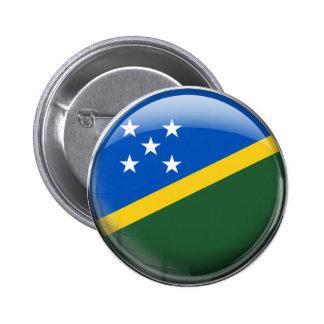 Solomon Islands Flag 6 Cm Round Badge