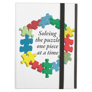 Solving the Puzzle...Powis White iCase iPad Case