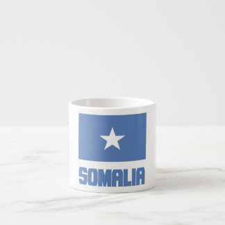 Somalia Flag 6 Oz Ceramic Espresso Cup