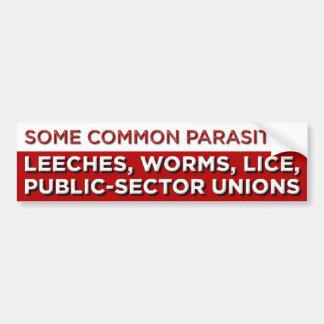 Some Common Parasites Bumper Sticker