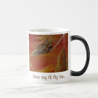 Some day I'll fly too.... Mugs