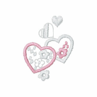 Some Hearts - Real Embroidery -