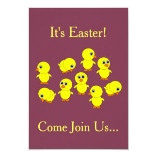 Some Of My Peeps Easter Party Invitations
