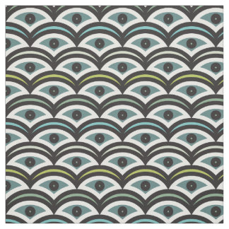 Some waves Green Colors Decorative Fabric