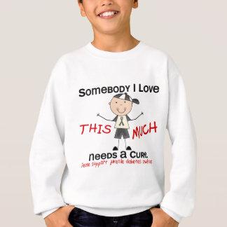 Somebody I Love - Juvenile Diabetes (Boy) Sweatshirt