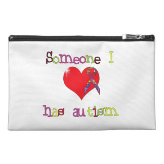 Someone I love has Autism Travel Accessories Bags