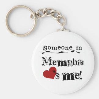 Someone in Memphis Key Ring
