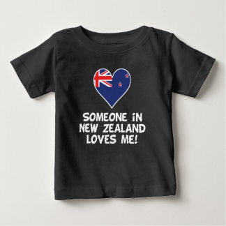 Someone In New Zealand Loves Me Baby T-Shirt