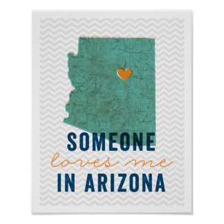 Someone Loves Me in Arizona Poster