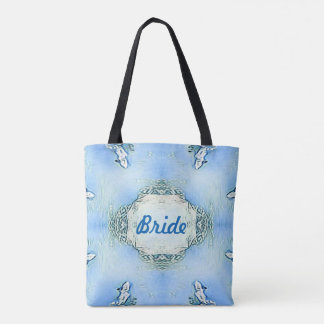 Something Blue Bride Or Bridesmaid Totes