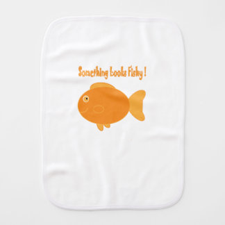 Something Looks Fishy! (Burp Cloth) Burp Cloth