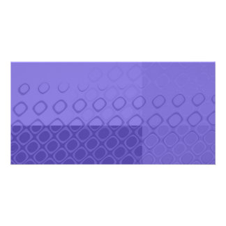 Something Purple - Bold Purple Abstract Picture Card
