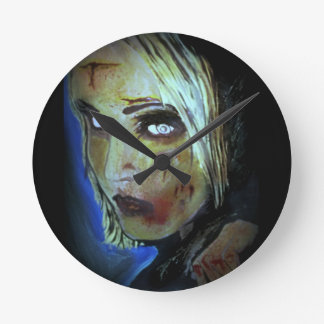 'Sometimes They Come Home' (Zombie) Wall Clock