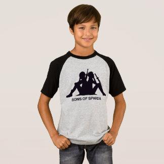 Son Of Sparda Kids' Short Sleeve Raglan T-Shirt