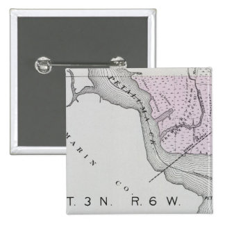 Sonoma County, California 13 15 Cm Square Badge