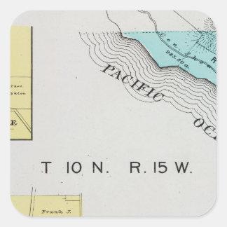 Sonoma County, California 19 Square Sticker