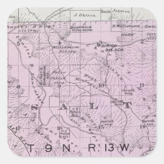 Sonoma County, California 20 Square Sticker