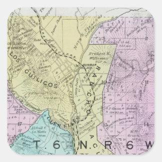 Sonoma County, California 21 Square Sticker