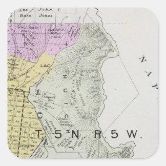 Sonoma County, California 30 Square Sticker