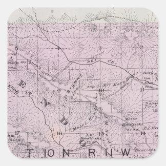 Sonoma County, California 5 Square Sticker