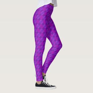 Sonoma Violet and Purple Leggings