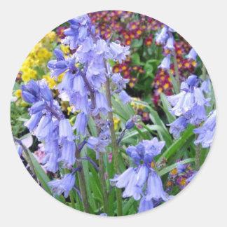 Sonoma Winery Spring Bouquet Classic Round Sticker
