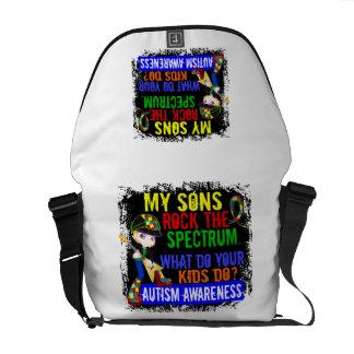 Sons Rock The Spectrum Autism Courier Bag