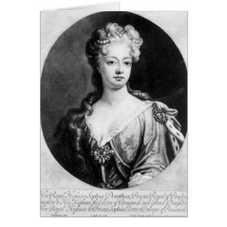 Sophia Dorothea, Queen of Prussia Card