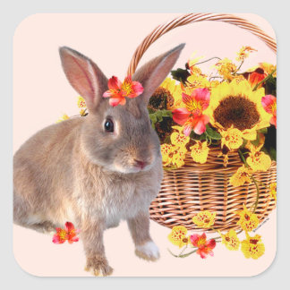 """""""Sophie"""" Easter Bunny Stickers"""