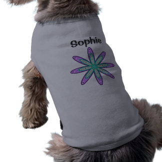 SOPHIE Personalized Kaleidoscope Floral Dog Sweate Shirt
