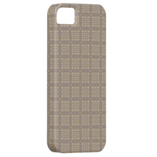 Sophisticated Beige Plaid  iPhone 5 case