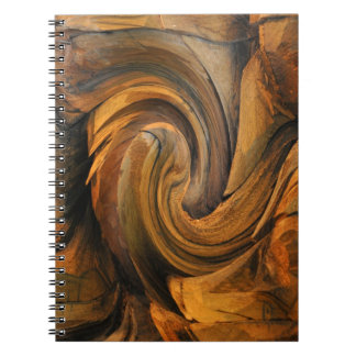 SOPHISTICATED SPIRAL PHOTO NOTE BOOK