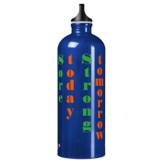 Sore Today Strong Tomorrow Fitness Quote Bottle