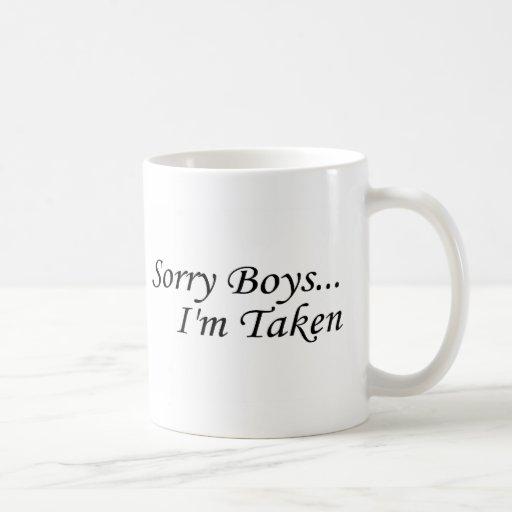 sorry boys im taken zazzle