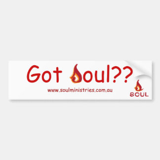 Soul Ministries Bumper Sticker