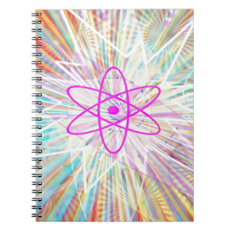 Soul Power : Solar Energy Artistic Design Spiral Notebook