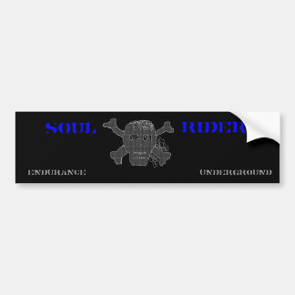 Soul Rider Bumper Sticker