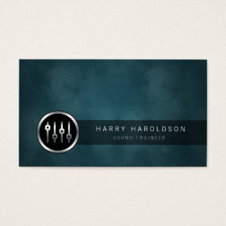 246 sound engineering business cards and sound engineering business sound engineer volume sliders grunge business card accmission Images