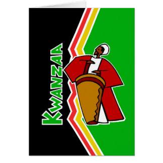Sounds Of Kwanzaa Kwanzaa Holiday Notecards Card