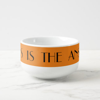 Soup Bowl Religious Soup Bowl With Handle