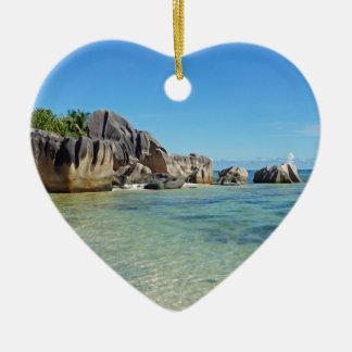 source d'argent ceramic heart decoration