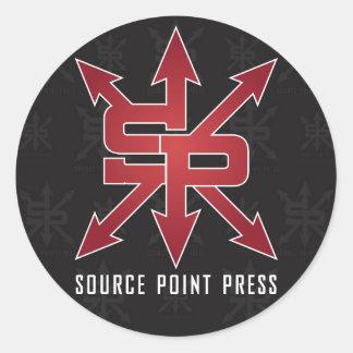 Source Point Press Sticker