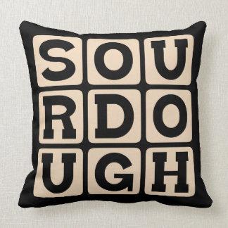 Sourdough, San Francisco Bread Throw Pillow