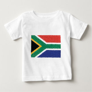 South Africa Flag Theme Baby T-Shirt