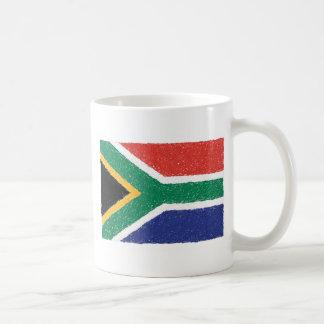 South Africa Flag Theme Basic White Mug