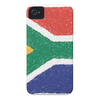 South Africa Flag Theme Case-Mate iPhone 4 Case